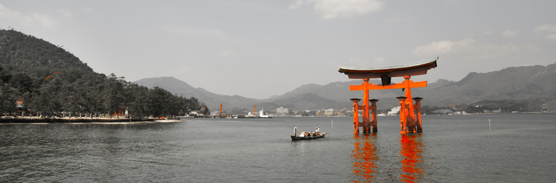 Miyajima_Torii Gate_Abstract_002
