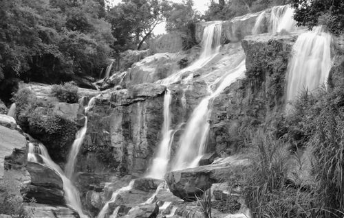 Waterfall_BW
